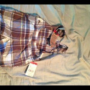 NWT 12 months boys osh kosh overalls
